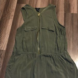 Olive green Rue 21 romper (fits like medium)